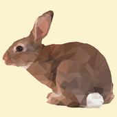 Low Poly Rabbit icon