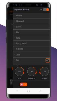 hyper volume booster - M4A music player screenshot 1