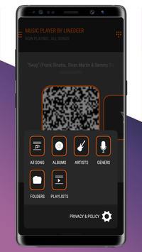 hyper volume booster - M4A music player screenshot 2