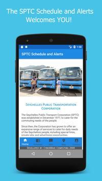 SPTC Schedule and Alerts apk screenshot