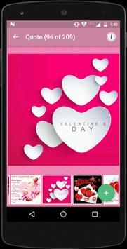 Best Valentine Day Quote Image apk screenshot