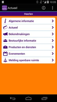 Gemeente Heerlen poster