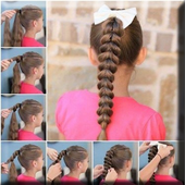 Easy Girl Hairstyles icon