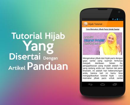 Tutorial Hijab screenshot 2