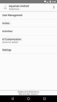 GetSocial Demo [SDK6] apk screenshot