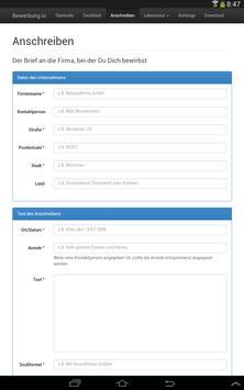 bewerbung und lebenslauf kostenlos als pdf apk screenshot - Lebenslauf Pdf Download