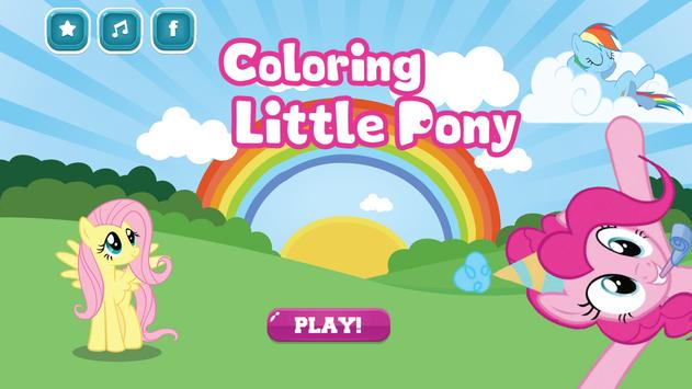 Coloring For Little Pony poster