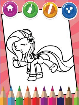 Coloring For Little Pony screenshot 1