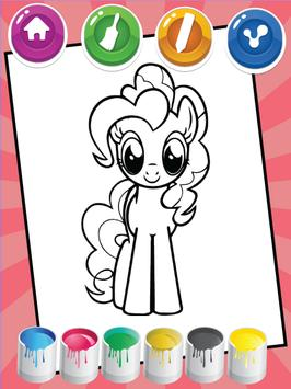 Coloring For Little Pony screenshot 2
