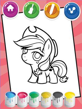 Coloring For Little Pony screenshot 3