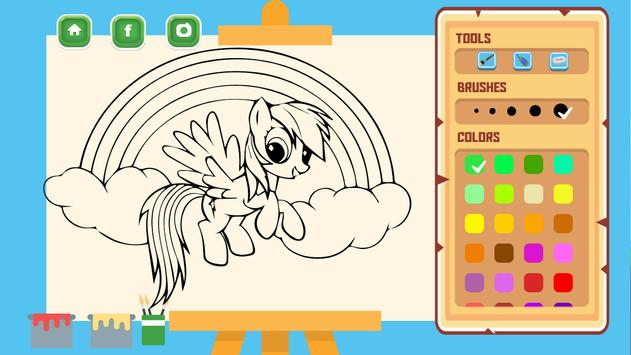 Coloring For Little Pony screenshot 8