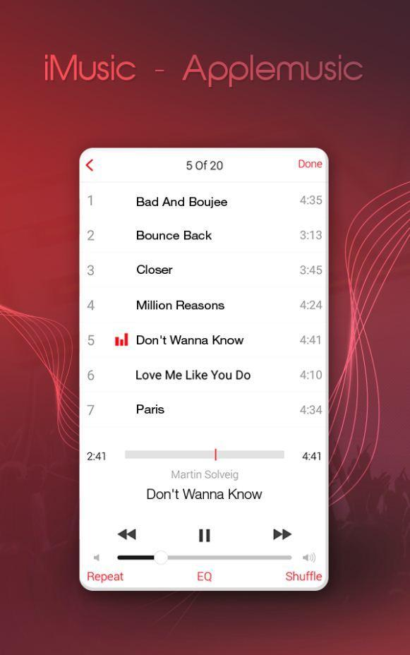 iMusic – Music Player for OS 11 for Android - APK Download