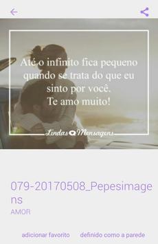 Mensagens de Amor apk screenshot
