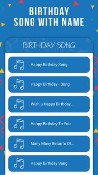Birthday Song With Name screenshot 1