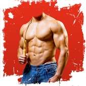 Body Builder Photo Suit icon