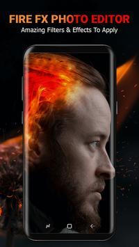 Fire Effect Photo Maker poster