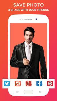Stylish Man Photo Suit screenshot 4