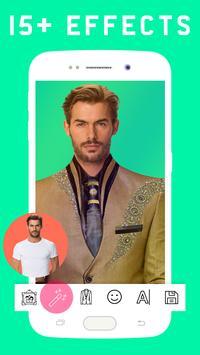 Stylish Man Photo Suit screenshot 2