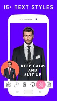 Stylish Man Photo Suit screenshot 3