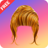 Women Hairstyle Photo Changer icon