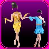 Dance Girl Photo Suit icon