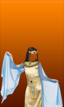 Egypt Girl Photo Suit apk screenshot