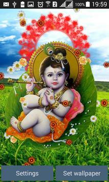 Lord Krishna Live Wallpaper apk screenshot