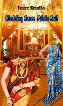 Wedding Saree Photo Suit poster