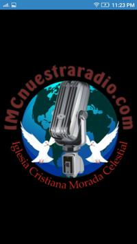 IMC NUESTRA RADIO poster