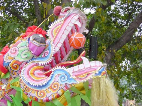 Chinese Lion Dance Wallpapers poster
