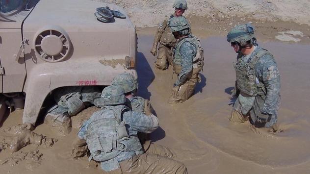 Soldiers Training Wallpapers screenshot 1