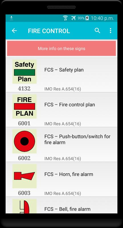 Marine Safety Signs Symbols Apk Download Free Education App For