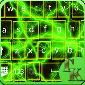 Green  keyboard themes icon