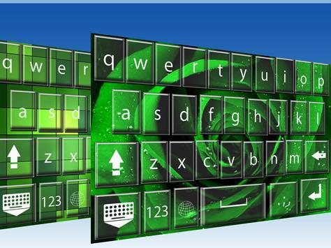 Green  keyboard themes screenshot 3