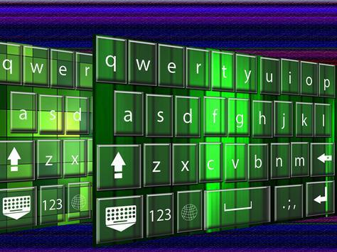 Green  keyboard themes poster