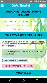Improve Your English poster