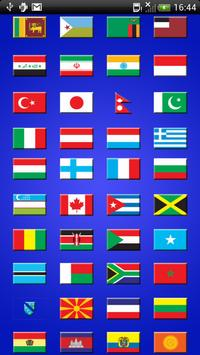World Flags Quiz poster