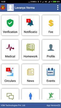 Delhi Convent School Parents App screenshot 1