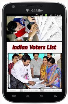 Indian Voter List ♛ poster