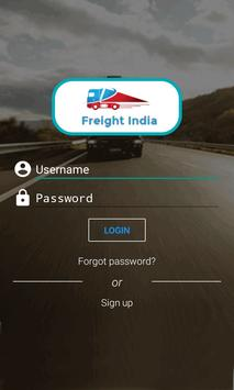 Freight India poster