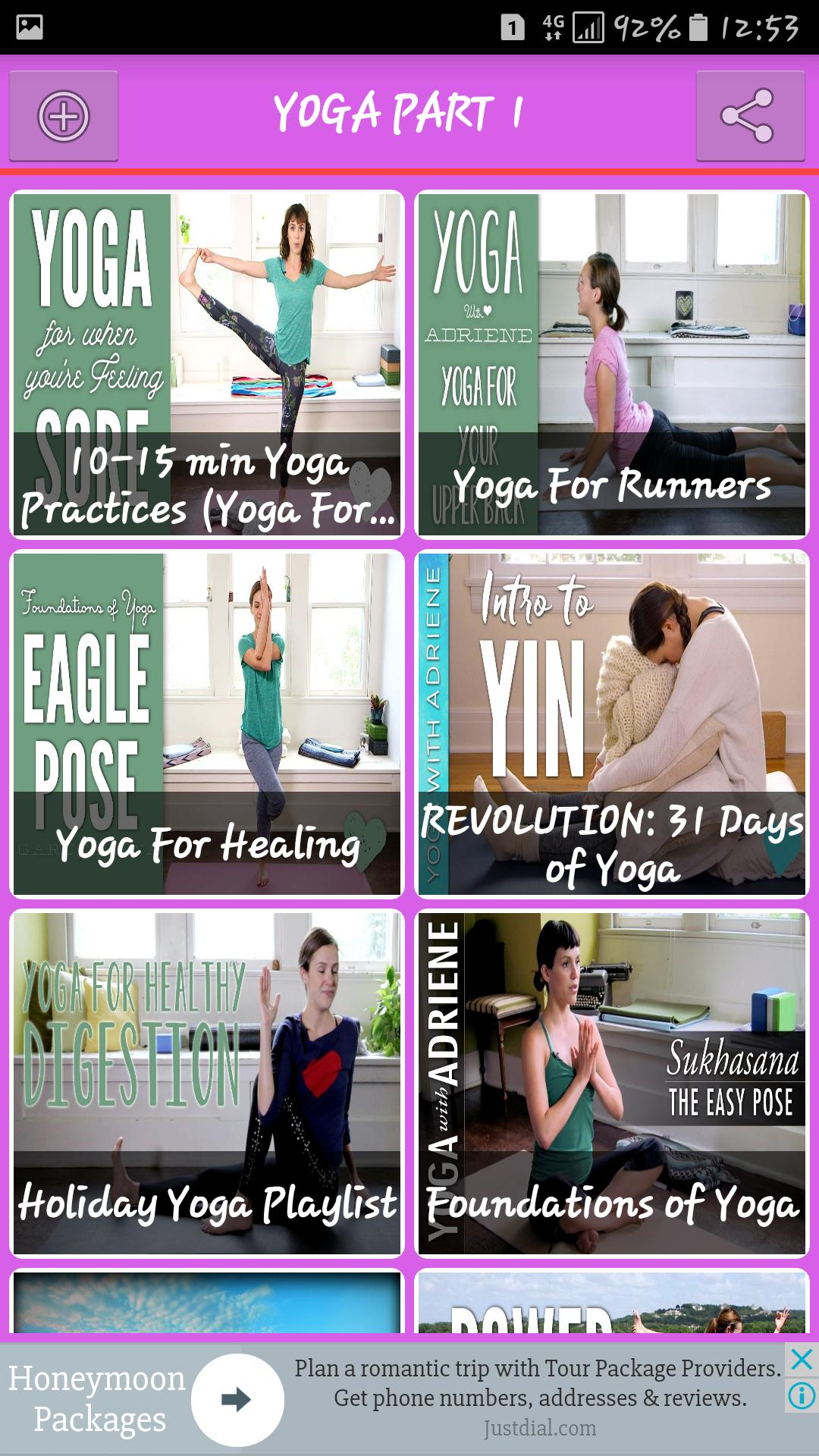 Yoga Videos for Android - APK Download