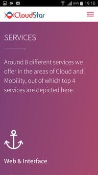 CloudStar Webapp apk screenshot