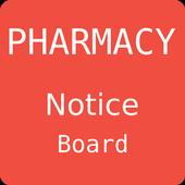 Pharmacy Notice Board icon