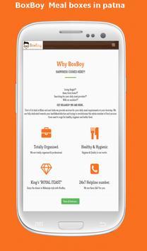 BoxBoy - Meal Boxes in Patna apk screenshot