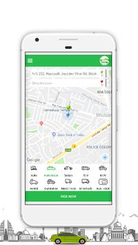 VoomCabs -Taxi, Truck, Rental, Out Station Booking screenshot 1