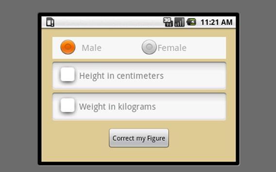 Correct your figure apk screenshot