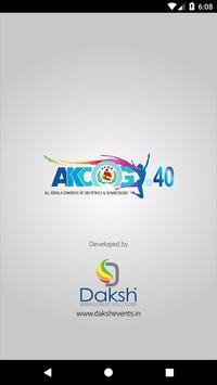 AKCOG @ 40 poster
