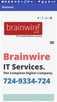 Brainwire IT Services poster