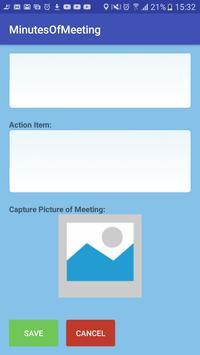 MoM: Minutes of Meeting screenshot 3