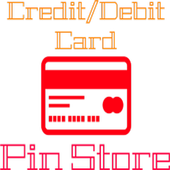 Credit/Debit Card Pin Store icon